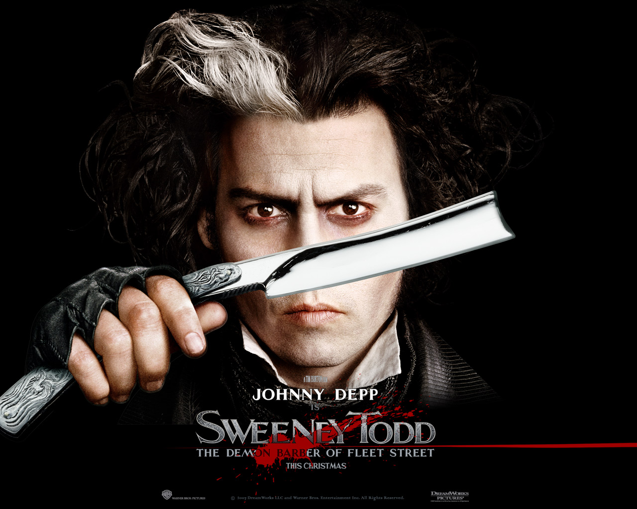 Sweeney Todd is among the Career Best Performances of Johnny Depp