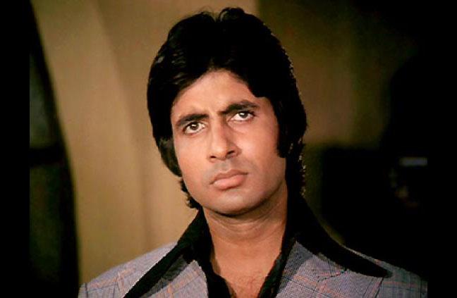 Amitabh Bachchan as a stylish bad boy