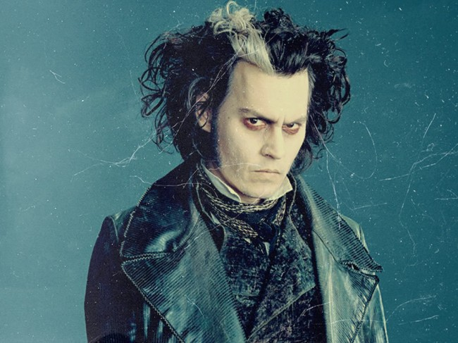 Johnny Depp and Tim Burton's Sweeney Todd as one of the best Hollywood films since 1990 (Mostly 2000)