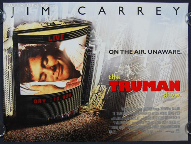 The Truman Show as one of the best Hollywood films since 1990