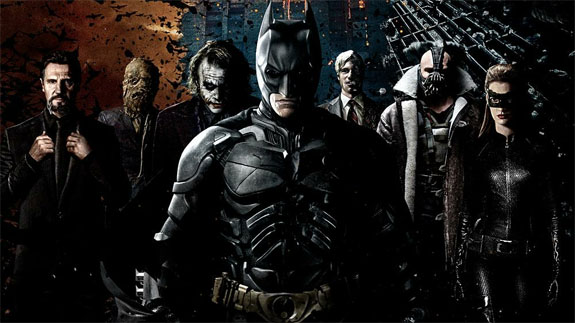 The Dark Knight as one of the best films since 1990 (Mostly 2000)