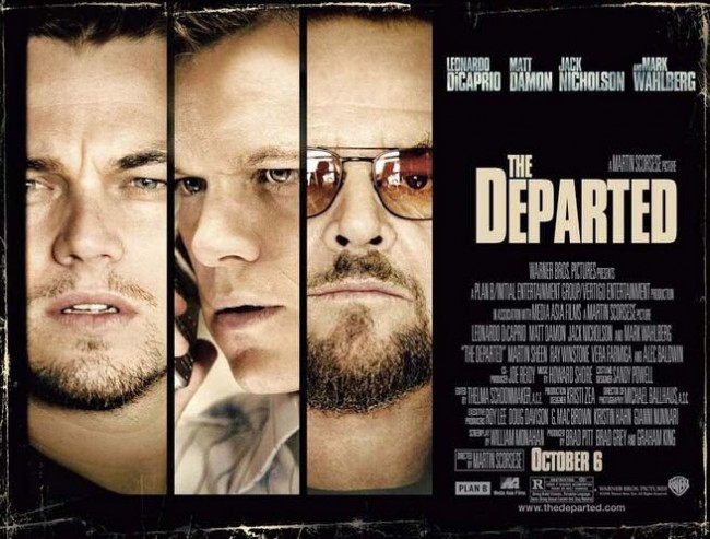 Martin Scorsese's The Departed one of the best Hollywood films since 1990 (Mostly 2000)