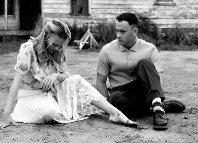 Forrest Gump as one of the best Hollywood films since 1990 (Mostly 2000)