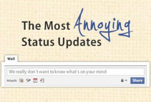 Facebook Annoyers: Do You Have Them Too?