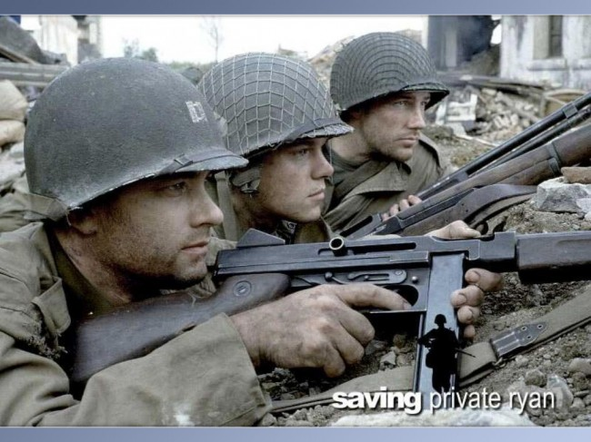 Saving Private Ryan as one of the best films since 1990 (Mostly 2000)