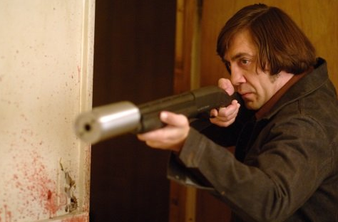 Anton Chigurh played by Javier Bardem in No Country For Old Men is among the Best Movie Villains of 2000s