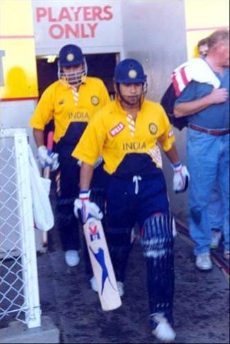 Old and nostalgic pictures of young Sachin