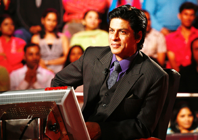 Shahrukh Khan in KBC was one of the best TV hosts in India