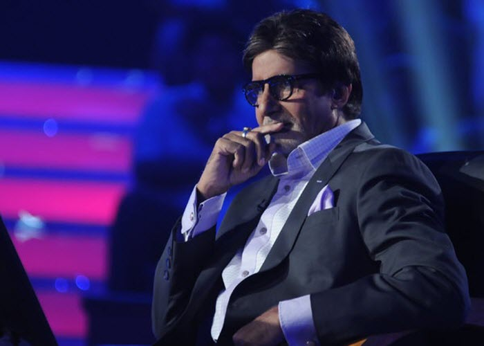 Image result for images of amitabh from kbc