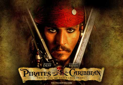 Pirates of the Caribbean is among the Career Best Performances of Johnny Depp