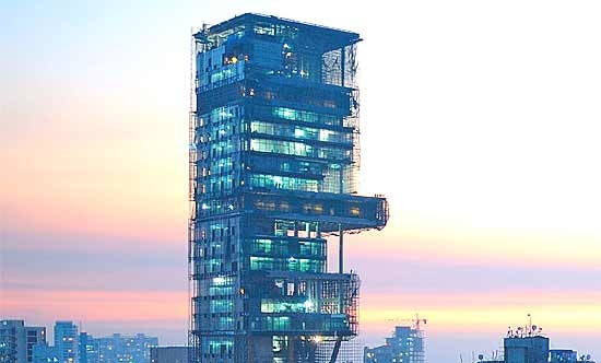 11 Not-So-Known Facts About Mukesh Ambani's Home, Antilia