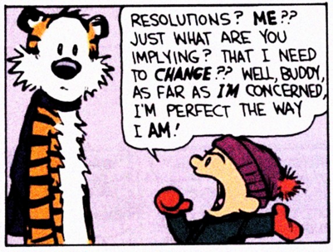 16 Fuss-free New Year Resolutions to Make Yourself Less Dysfunctional