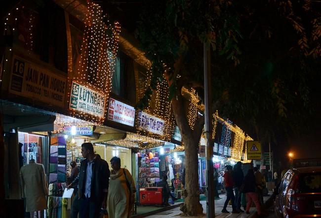 Janpath shopping hub