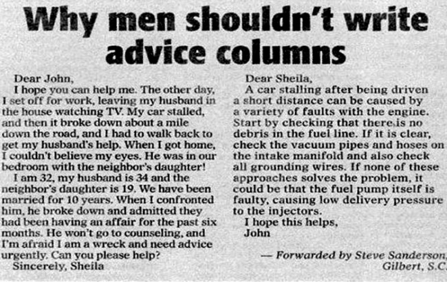 How to Write Advice Columns
