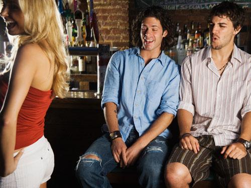 Richtig flirten mit jungs