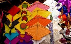 Beautiful Kites in India