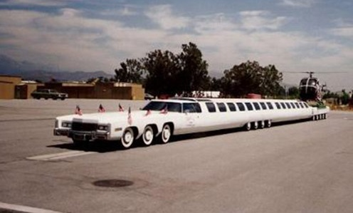 longest car in the world