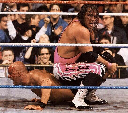 7 Matches Where Bret Hart Took the Most Beating