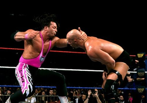 Top 9 Moments from Bret Hart vs. Steve Austin Rivalry