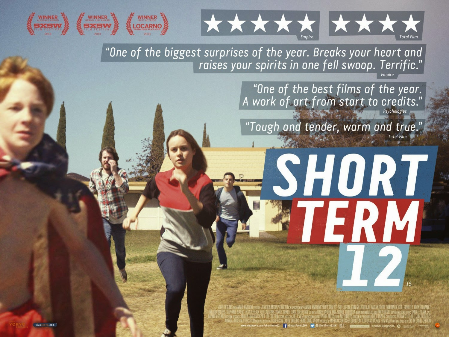 Short Term 12 starring Brie Larson is one of the best Hollywood films since 1990 (Mostly 2000)