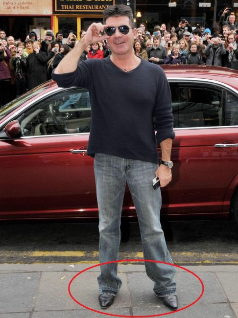 Simon Cowell pants