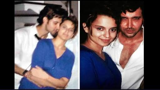 Morphed picture for Kangana Hrithik Affair as part of the exposed lies that Kangana Ranaut has been spreading