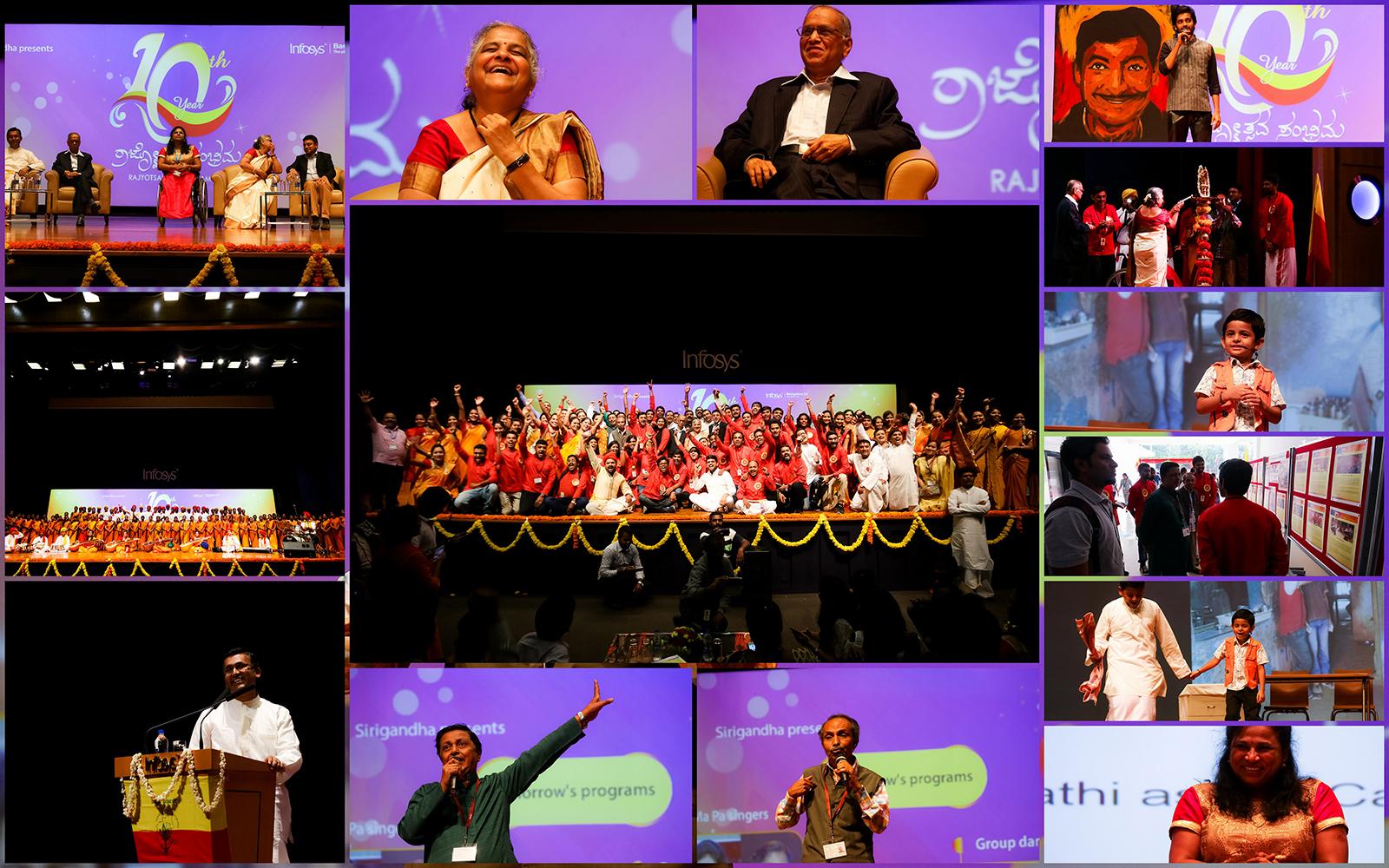 Sneak Peek into Infosys Bangalore DC Concludes 10th Rajyotsava Sambhrama