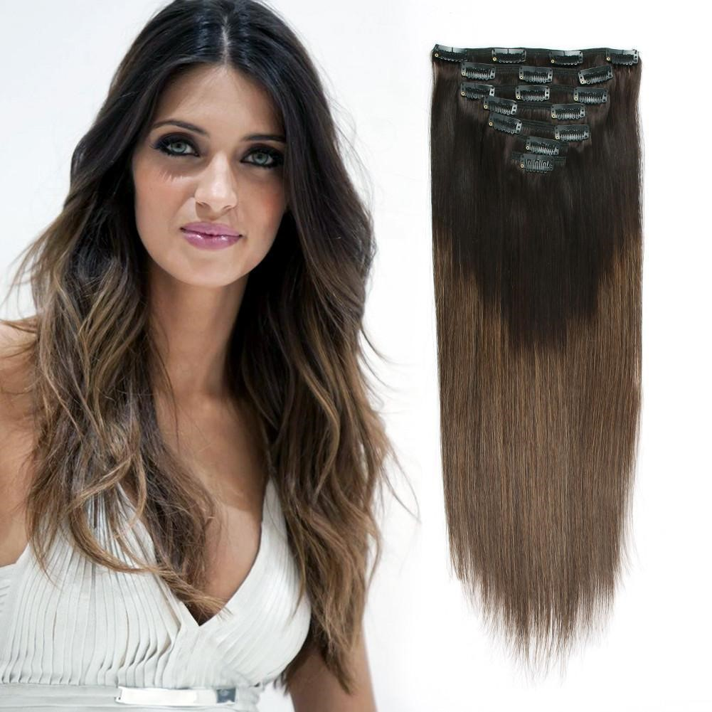 Apply Clip In Hair Extensions At Home Do It Yourself