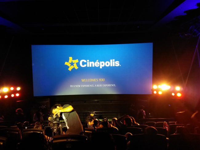 4DX screen Cinepolis