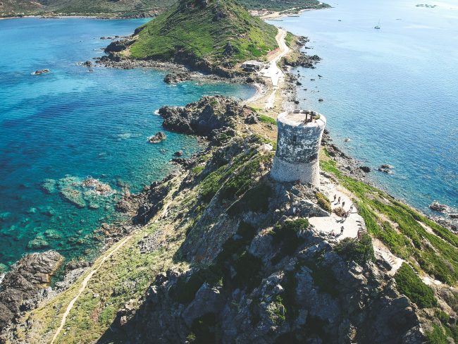 Beautiful Corsica as travel destination
