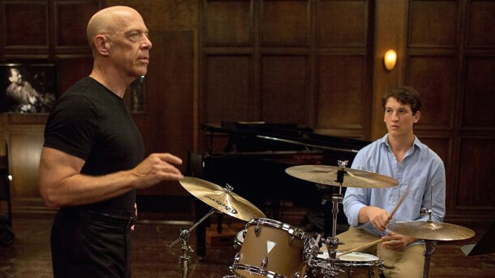 Whiplash (2014) dir. Damien Chazelle is among the Best Hollywood and World Cinema Films From 2000s