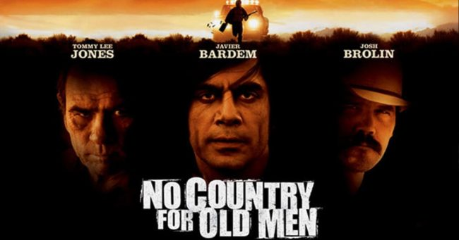 No Country for Old Men movie adapted from the book by Cormac McCarthy