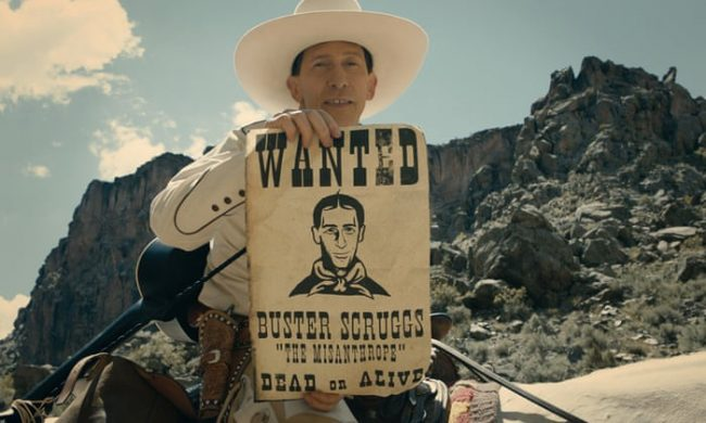 The Ballad of Buster Scruggs as one of the best Netflix Originals movies
