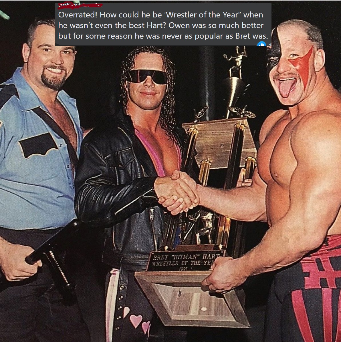 Bret The Hitman Hart is Overrated: A Debate with a Hater