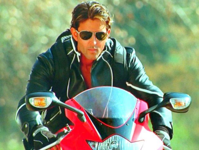 Hrithik Roshan as a stylish bad boy