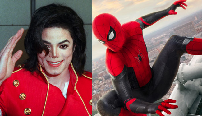 Michael Jackson was a fan of Spider-Man