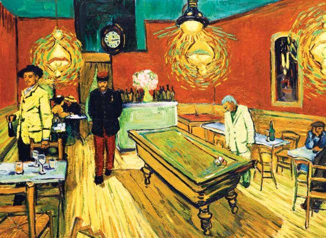 Loving Vincent is a movie made entirely out of oil paintings and one of the best Hollywood movies made since 1990