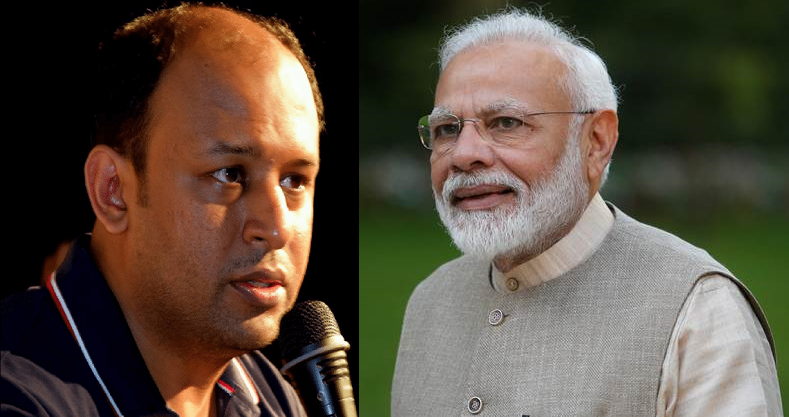 On Pratik Sinha of AltNews Questioning Modi Gov Over COVID Management