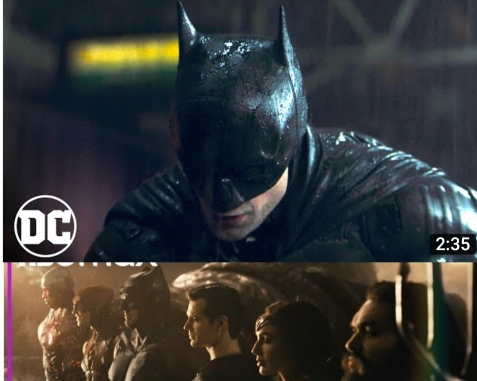 Trailers Out for Robert Pattinson's Batman and Snyder Cut's Batfleck