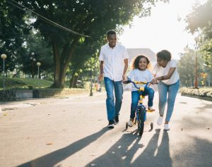How can working parents focus on their child's development?